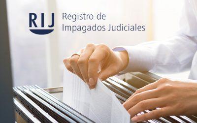REGISTRO DE IMPAGADOS JUDICIALES
